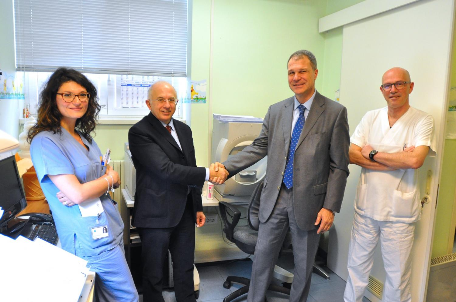 6,000 EUROS DONATED TO THE BURLO GAROFOLO HOSPITAL