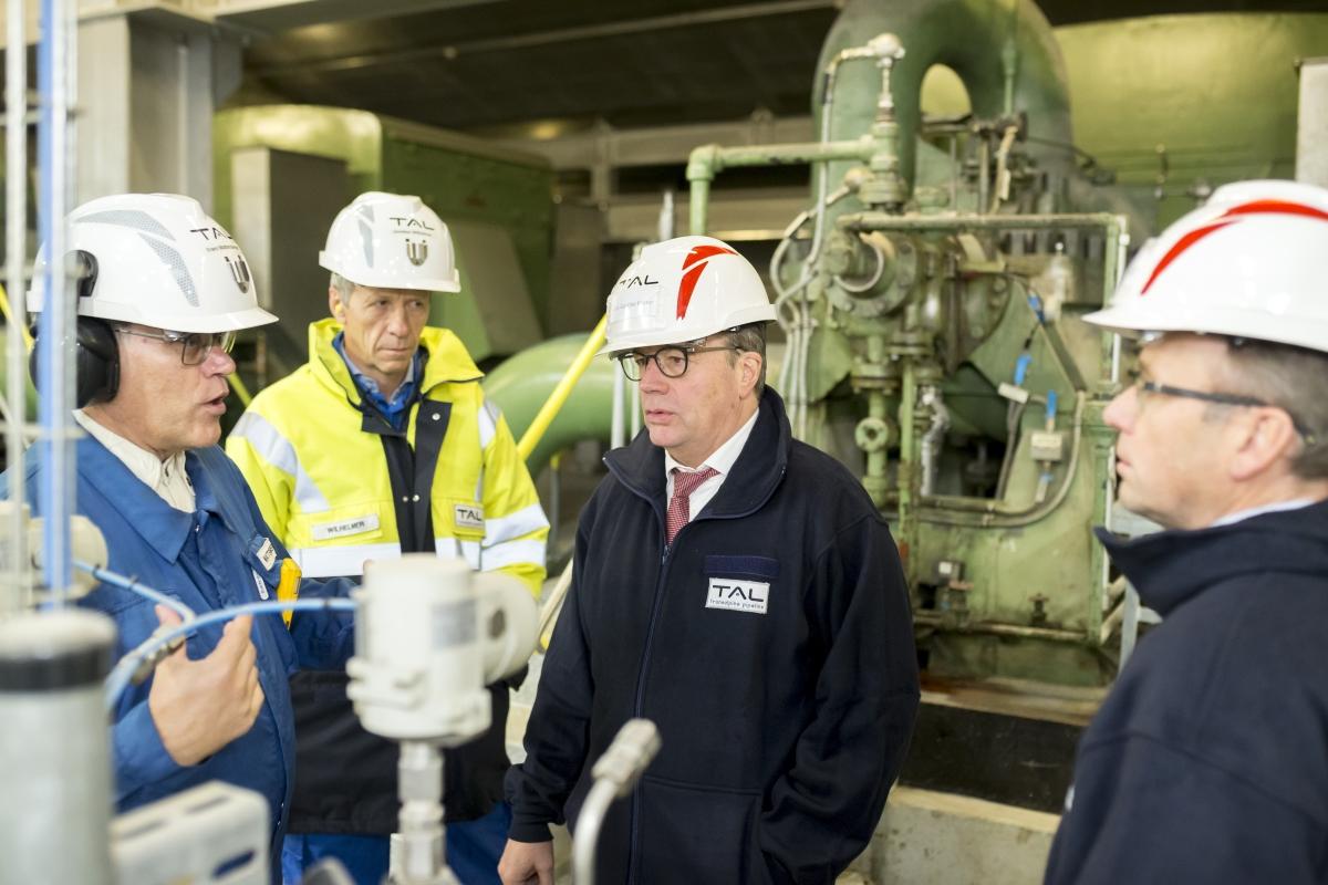 Governor of Tyrol visits TAL