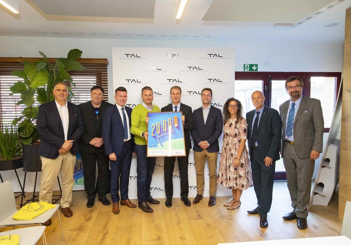 Österreichische und deutsche Delegation zu Besuch in Triest