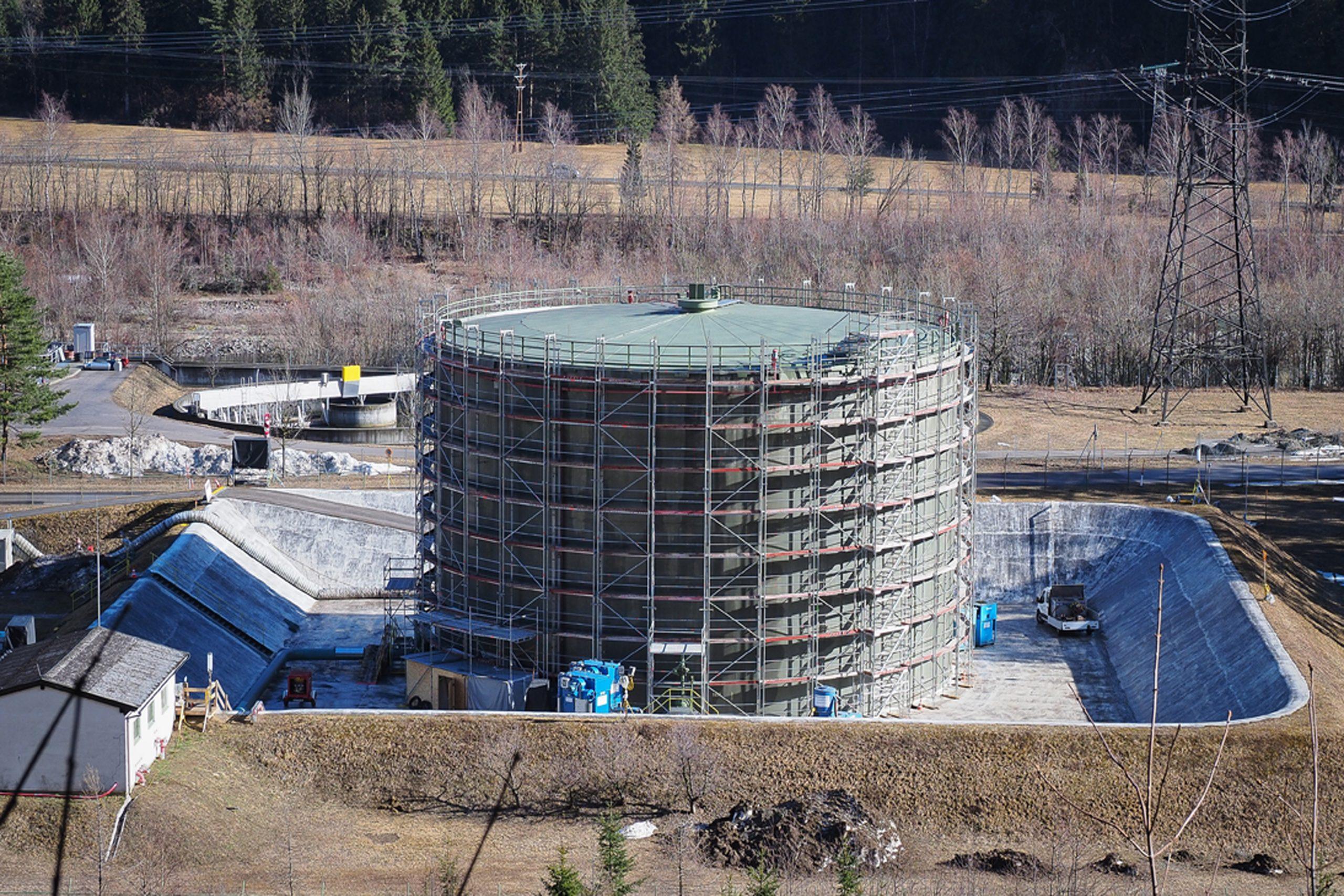 Kienburg : conclusa con successo la revisione del serbatoio