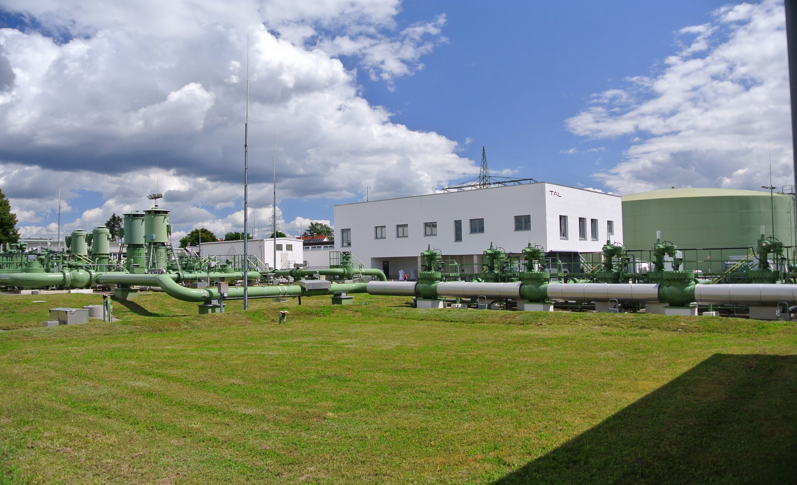 Neues Bürogebäude im Tanklager Lenting